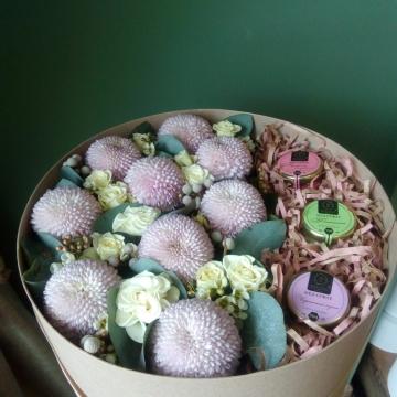 Композиция №004 цветы и мёд-суфле