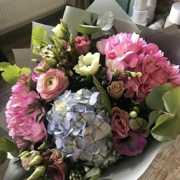 Букет цветов - микс №101