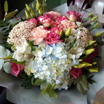 Букет цветов - микс №103