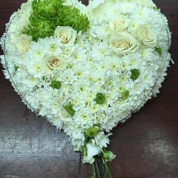 Композиция №402 цветочное сердце