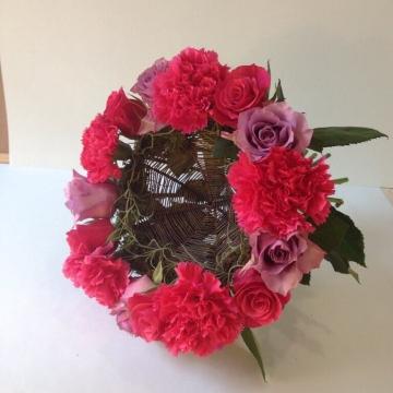 Букет цветов №402 на каркасе