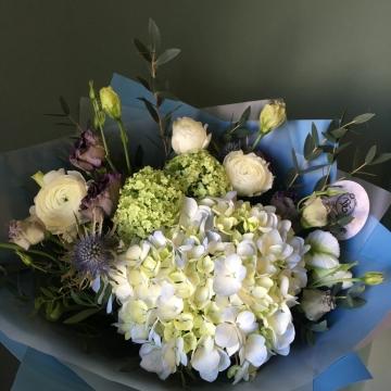 Букет цветов - микс №107