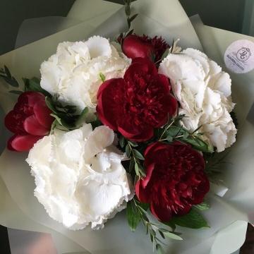 Букет цветов - микс №106
