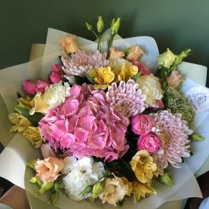 Букет цветов - микс №008