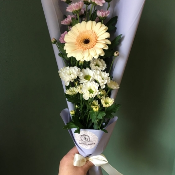 Букет цветов - микс №111