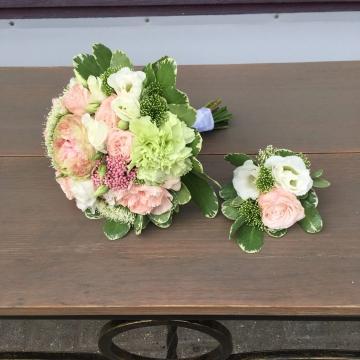 Букет невесты №204 (свадебный)
