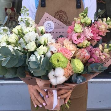 Букет цветов - микс №113 раскидистый