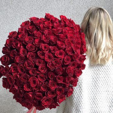 Букет №014 из 101 розы