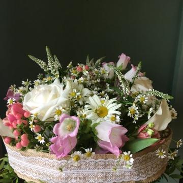 Букет цветов №407 на каркасе