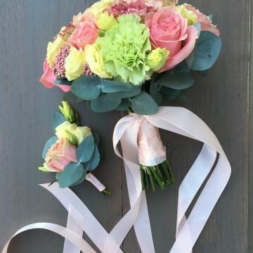 Свадебный букет невесты №207