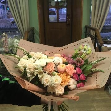 Букет цветов - микс №116 раскидистый