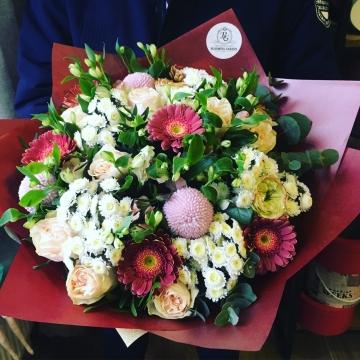 Букет цветов - микс №117