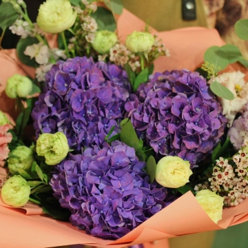 Букет цветов - микс №119