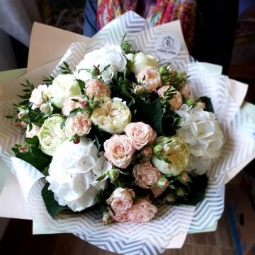 Букет цветов - микс №118