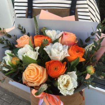 Букет цветов - микс №120
