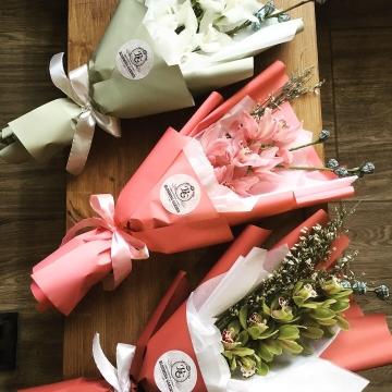Букет №015 из орхидей