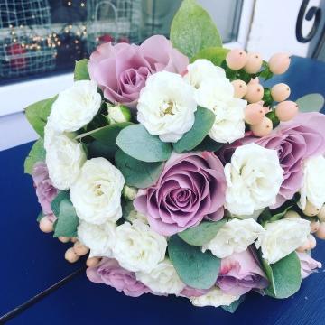 Свадебный букет невесты №211