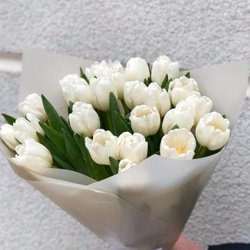 Букет №018 из тюльпанов