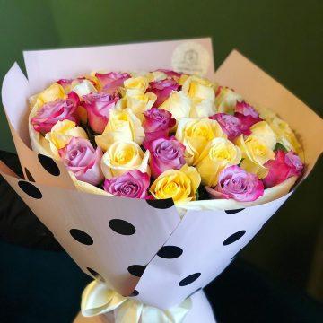 Букет №021 из роз