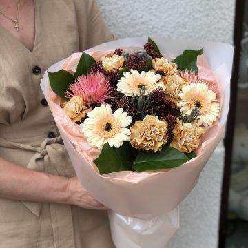 Букет цветов - микс №124